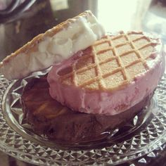 Made this ice cream sandwich..:D