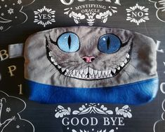 Cheshire Cat Grin purse