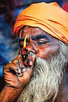 Holy of holies - Gangasagar mela, Kolkata, West Bengal Indian Photography, Portrait Photography, Aghori Shiva, Shiva Tattoo Design, West Bengal, The Beautiful Country, Hand Art, Varanasi, Malang