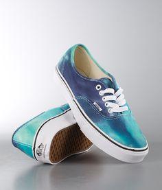 Vans - Authentic Sko (Tie Dye) Navy/Turquoise - Ridestore.no