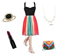 SummerNights by basylio on Polyvore featuring polyvore fashion style Missguided Blue Nile Amorium Smashbox women's clothing women's fashion women female woman misses juniors