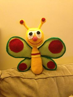 Baby TV Butterfly amigurumi