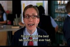 "When Eunice took lab, and Duke, very seriously. | 19 ""She's The Man"" Quotes That Will Always Make You Laugh"