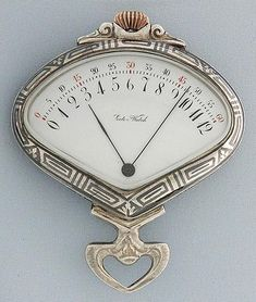 Bogoff Antique Pocket Watches Silver Niello Sector - Bogoff Antique Pocket Watch # 6781
