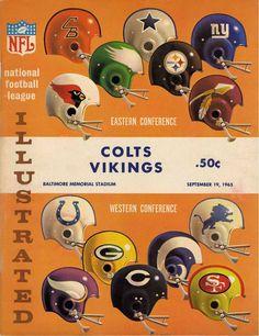 Baltimore Colts vs. Minnesota Vikings (1965)