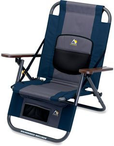All outdoor chairs are not created equal. We have been to enough concerts, festivals, camping trips, BBQs and pool parties to know this. The Wilderness Recliner from GCI will be the best outdoor chair you buy. It has a patented auto fold system that allows you to carry the chair on your back like a backpack.