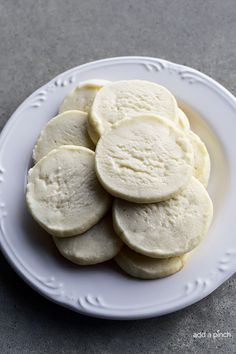 Slice and Bake Shortbread Cookies Recipe