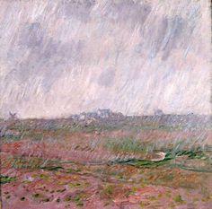 Claude Monet - Pluie à Belle-Ile, 1886