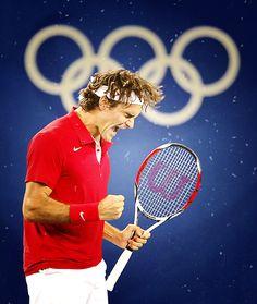 Roger Federer  Olympics 2012