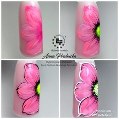 Discover the 10 most popular nail polish colors of all time! Nail Art Blog, Nail Art Hacks, Easy Nail Art, Nail Art For Beginners, Nagellack Design, Almond Nails Designs, Floral Nail Art, Manicure E Pedicure, Flower Nails