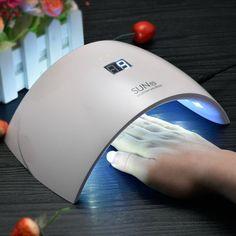 Lámpara UVLED SUN9s para gel y shellac manicura.