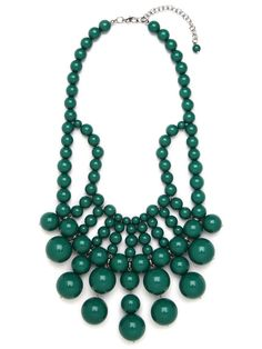 Love these emerald jewels