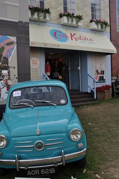 Cath Kidston at Vintage at Goodwood!