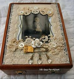 cigar box idea... we could definitely do this!                                                                                                                                                                                 More