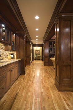 Like the look - Red Birch Floors - traditional - hall - minneapolis - John Kraemer & Sons