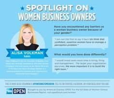 Spotlight on women business owners.