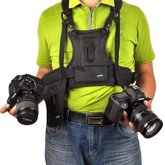 Multi-Camera Carrying Vest