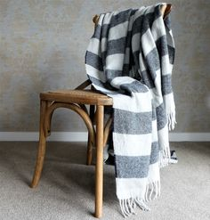 The beauty and quality of this Llama Blanket is undeniable. Woven from llama fleece raised on the high Andean plains of La Puna, Argentina. Black Stripes, Choices, Cushions, Wool, Blanket, Luxury, Easy, Products, Throw Pillows
