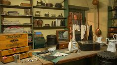 Tailor's shop Mercer Museum, Modern Tailor, Tailor Shop, Slim Fit Suits, Bespoke Suit, Industrial Revolution, Everyday Objects, Building, Tuxedo