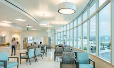 Hunt Cancer Center Consolidates Cancer Treatment Services into 1 Patient-Centered Environment Genetic Counseling, Clinical Research, Types Of Cancers, Building Companies, Healthcare Design, Garage Design, Cancer Treatment, Medical Center, Second Floor