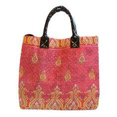 Arianna Bag now featured on Fab. Bags are made from recycled saris.