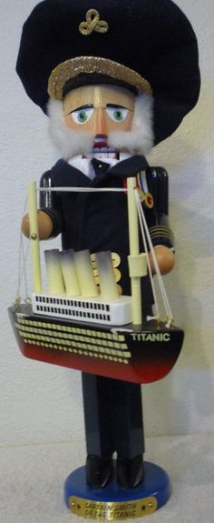 "Steinbach Nutcracker ""Captain Smith of the Titanic"" - Limited Edition - S1687"