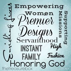 Premier Designs provides a way for women to find identity, recognition, and success! #pdlife