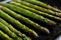 Oven Roasted Asparagus is the perfect side dish to make for dinner! Elegant, but simple enough for a weeknight meal. #30minutemeal #asparagus #healthyside #veggies #roastedvegetables #roastedveggies #sidedish Holiday Side Dishes, Side Dishes Easy, Side Dish Recipes, Oven Roasted Asparagus, Roasted Vegetables, Veggies, Easy Dinner Party Recipes, Date Night Recipes, Healthy Sides