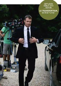 Chris Vance as Frank Martin in Transporter: The Series - BTS.