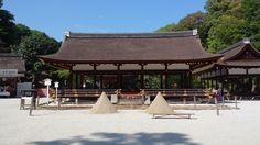賀茂別雷神社 Kamo-wakeikazuchi Shrine or 上賀茂神社 Kamigamo Shrine.
