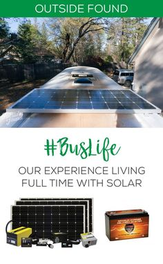 Lots of people are surprised when they hear that our school bus conversion doesn't include a generator! We are 100% solar and 100% lovin' it. Perfect for those who live on the road in their van or rv and are considering converting to solar!