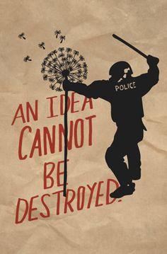 I poster di Occupy - Nina Montenegro