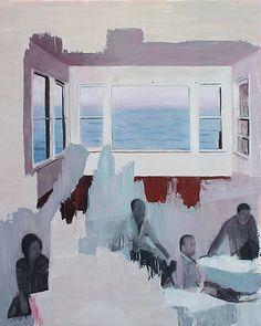 Antonio LeeOil and acrylic on canvas. 75cm x 60cm