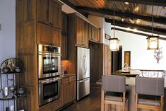 Hanover Hickory, Medium with CDF and Rose Hall Square Hickory with Slab Drawer Front, Sable Kitchen Dining, Kitchen Cabinets, Dining Room, Kitchen Appliances, Cabinet Companies, Wellborn Cabinets, Rose Hall, What's Your Style