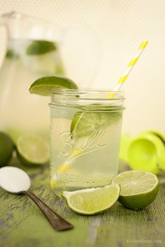 Fresh Squeeze Limeade Recipe - this is the perfect refreshing drink for your summer days KristenDuke.com