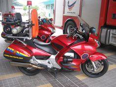 Honda Pan European Fire Bike (Malaysia).
