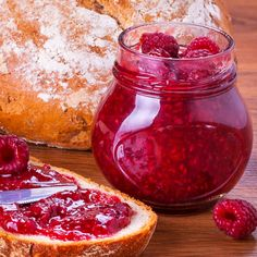 This raspberry freezer jam produces a jam that will make you think you are eating fresh berries plus it is so easy to make!. Raspberry Freezer Jam  Recipe from Grandmothers Kitchen.