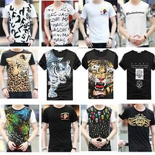 Fashion Casual T-shirts Tee Mens Short Sleeve Slim Fit Crew Neck Shirt Tops Price: USD 5.695 | UnitedStates