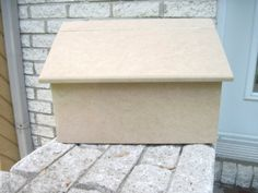 Wooden mailbox unfinished wood ready to paint by artbyLucie Mdf Wood, Unfinished Wood, Wooden Mailbox, Cabinet Makers, Husband, Paint, Projects, Recipes, Diy