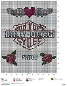 Harley personalized wall hanging