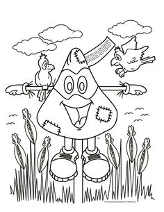 hershey coloring pages for kids - photo#11