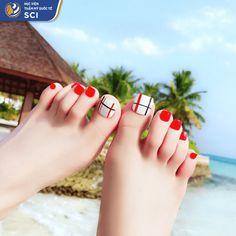 Pretty Toe Nails, Cute Toe Nails, Toe Nail Art, Cute Acrylic Nail Designs, Toe Nail Designs, Acrylic Nails Coffin Short, Cute Acrylic Nails, Feet Nail Design, New Years Nail Art