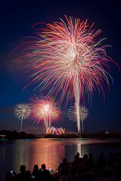 Photographier les feux d'artifice