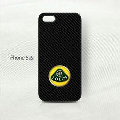 Lotus Racing Carbon Fiber Pattern  iPhone 5 5S Cover Case