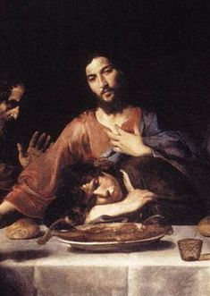 St John and Jesus at the Last Supper by Valentin de Boulogne, National Gallery of Ancient Art, Palazzo Corsini, Rome, Italy. Catholic Online, Catholic Bible, Catholic Saints, Catholic School, Roman Catholic, San Juan Evangelista, List Of Paintings, New Testament Books, St John The Evangelist