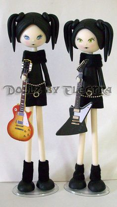 Goth Dolls Guitar girls 2