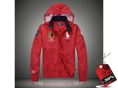 d644a2726f330 officiel 2013 hommes Ralph Lauren veste style pop francaise pas cher rouge  Robe Ralph Lauren
