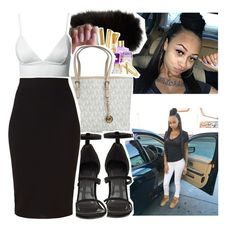 """""""Date w/ Daddy"""" by p-v-ssy ❤ liked on Polyvore featuring Adrienne Landau, amika, Dove, Maison Margiela, Victoria's Secret, Victorinox Swiss Army, MICHAEL Michael Kors, Dark Pink, Winser London and women's clothing"""