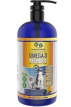 Human grade omega 3 fish oil for cats or dogs.   100% pure, no additives fillers or toxins, 100% safe and natural.  ELIMINATES ITCHY SKIN, EXCESSIVE SHEDDING and PAINFUL JOINTS.  Promotes healthy, shiny fur, soothes itchy and sensitive skin. Eases painful, inflamed joints. Supports immune health, cardiovascular function and improves stiffness and allergies.  Sponsored   https://furtheloveofdog.blog