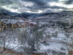 Snow Photos: Alcoy (Alicante) Spain
